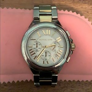 Michael Kors Two Tone large Face Watch